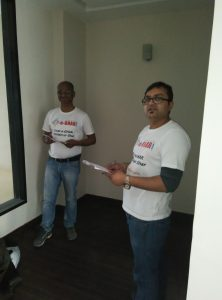 Quality Experts pre inspecting ready to move property